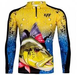 Camisas de pesca com proteção UV