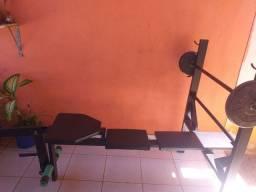 Máquina de musculação estação