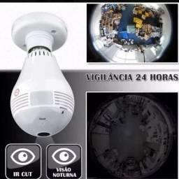 Câmera Segurança Lampada Espia Wifi - acompanhe imagens pelo celular