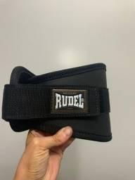 Cinturão Profissional Rudel Para Musculação Tam P - sem uso