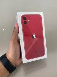 Olha esse vermelho *_* ( iPhone 11 ) na caixa
