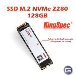 SSD M.2 NVMe Kingspec 128 GB (2280)