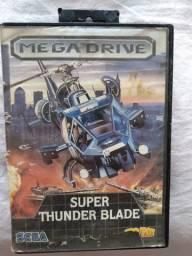 Cartucho Mega Drive Super Thunder Blade ( Sem Label )