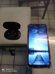 Redmi Note 8 + Fone Air Dots (Somente o direito)