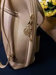 Fina e elegante mochila. Um luxo