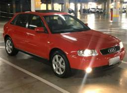 Audi A3 1.8 Turbo T vermelho Ano 2005 (Aceito Troca)