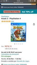 Knack 2 e Journey PS4