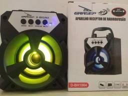 Caixa de Som Bluetooth Portátil Grasep D-BH1064
