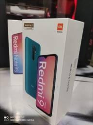 Redmi 9 Prime Verde/Preto/Azul 4+64 GB Índia Ler na Descrição