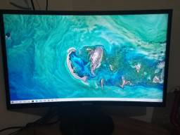 Monitor Samsung Full HD tela curva 24