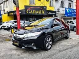 Honda city ex 2016 completo + gnv