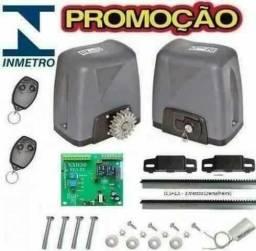O melhor motor de portão com o menor preço DZ Nano Rossi Turbo Kit completo