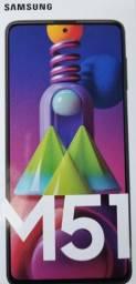 Samsung Galaxy M51 128GB Bateria gigante