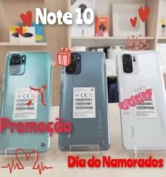 Redmi Note 10 64GB +4 GB Ram Branco/Verde/Cinza