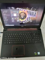 Notebook Dell Gaming + 4gb de placa de vídeo + SSD kingston seminovo !