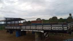 Carroceria Scania bitruck 9 metros usada