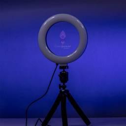 Ring Light 16 CM + Tripé para celular
