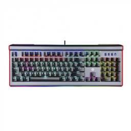 Título do anúncio: teclado gamer usb mecanico gk520 rgb preto