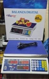 Balança digital 40kg nova
