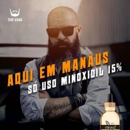 Minoxidil 15% +Barba +Cabelo em Menos Tempo -Entrega Grátis