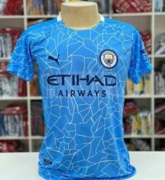 Camisa do Manchester city/Temporada 19-20