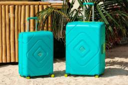 Kit malas de viagem media e pequena de bordo