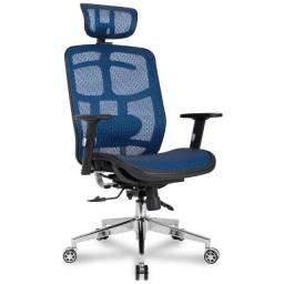 Cadeira DT3 Office Diana V2, Blue - 11727-8 Tecido Mesh