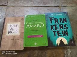 Vende-se livros semi novo