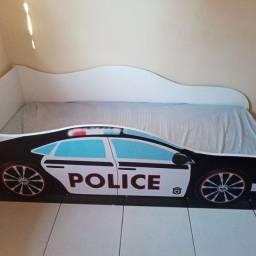Cama solteiro modelo carro
