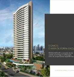 Apartamento  250 m²com 4 quartos todos suíte, gabinete Em construção