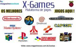 Video Game console multijogos retrô