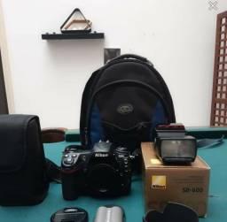 torro Máquina fotográfica profissional nikon+ acessórios