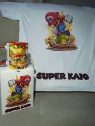 Camisetas e canecas personalizadas
