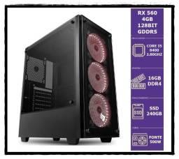 Rx 560 4Gb/ I5 8400 Up 4.00Ghz 6 Nucleos/ Ssd 240Gb/ 16Gb Ddr4 3000Mhz