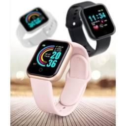 Smartwatch Relógio Inteligente  D20/Y68 Black Monitor