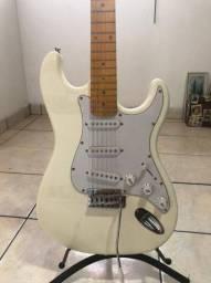 Guitarra Elétrica TEG-400V Branco Thomaz