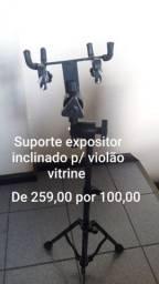 Suporte Expositor Inclinado p/ Violão Vitrine Ask