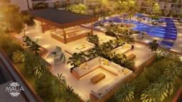 =LL= Apartamentos com 1 e 2 quartos todos frente piscina. Malia Beach Eperience