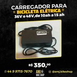 carregador para bicicleta elétrica