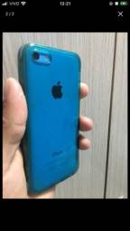 Título do anúncio: Vendo iPhone 5c