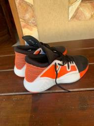 Tênis Adidas Pro Vision N39 Laranja Original