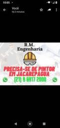 Preciso de pintor em Jacarepaguá para trabalhar na diária