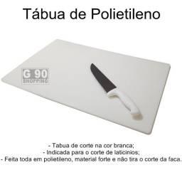 Polietileno Branco - Tabua / Placa  - Sob medida - 10mm de espessura