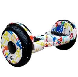 Hoverboard scooter 10 polegadas com leds e Bluetooth