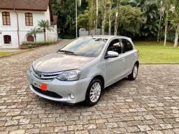 Toyota Etios XLS 1.5 Hatch Flex Único Dono + Revisões