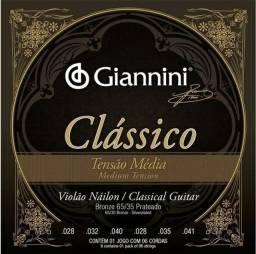 Cordas para violão Giannini