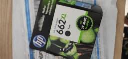 Cartucho HP 662 XL preto novo. Leia o anúncio