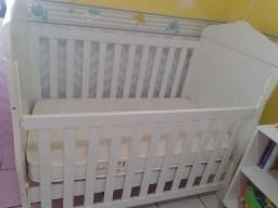 Berço americano + Colchão ortobom pró-saúde baby novinho