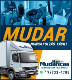 Título do anúncio: REI DAS MUDANÇAS CAMINHÃO BAÚ E PEQUENOS FRETES LOCAL E INTERESTADUAL