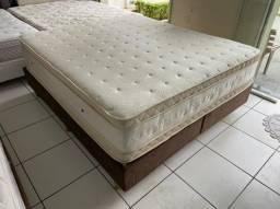 cama box queen size - Maxflex - medida especial - entrego